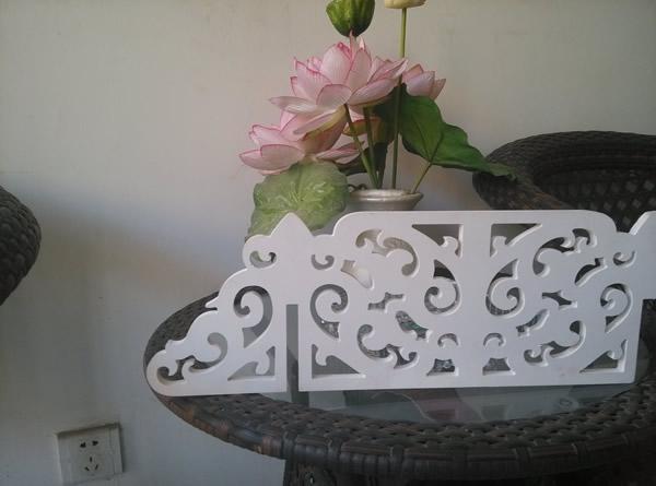 pvc可以雕花 做镂空隔断